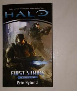 HALO First Strike Book