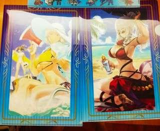 Fate Grand Order FGO lawson限定 禮裝 A4 file兩個不散$70 南丁格爾 卡米拉