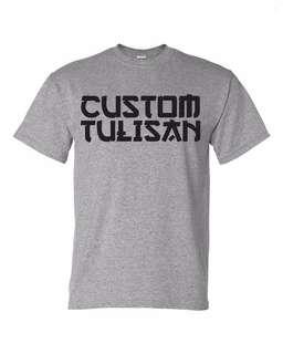 Kaos Custom Satuan Design Tulisan 1 Warna