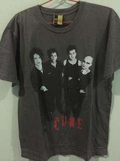 Jual kaos band vintage The cure tour 2007