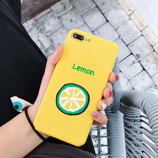 iPhone Case 檸檬🍋 6- x
