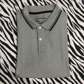 Polo shirt giordano abu abu grey size xxl original