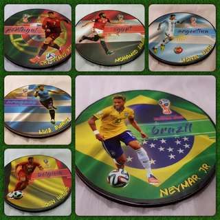 Russia World Cup Coaster Collection