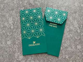 2pcs Swarovski 2017 crystal raya packet / sampul raya