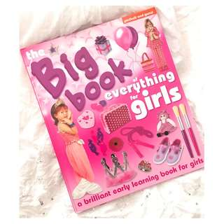 The Big Book for Everything Girls Children's Book