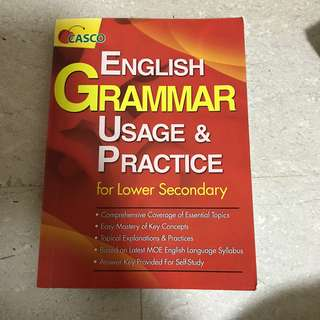CASCO English Grammar Usage & Practice for Lower Sec