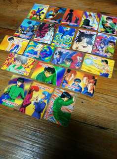 Ghost Fighter Yuyu Hakusho Teks Set 7