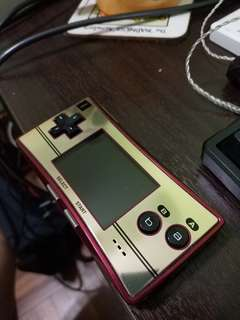 Gameboy Micro Famicom console