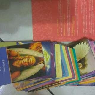 🚚 大天使神論,占卜卡一本,牌45張,含運費
