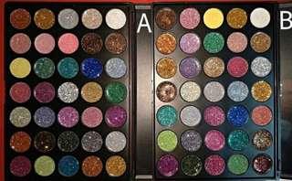 🚚 Morphe 35 colour glitter pallette