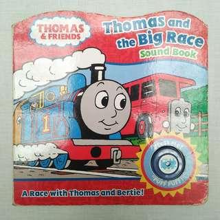 Buku Anak - Thomas & The Big Race Soundbook (2+ Tahun)