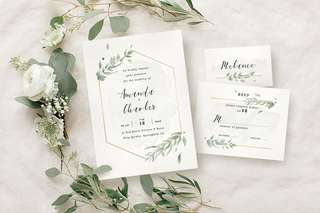 🚚 Rustic Forest Wedding Invitations