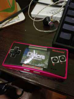 Gameboy Micro Console