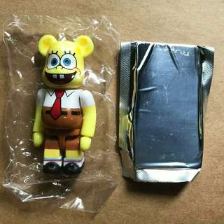 Medicom BE@RBRICK Series 18 Cute [Spongebob] 100% Bearbrick