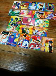 Ghost Fighter Yuyu Hakusho Set 9