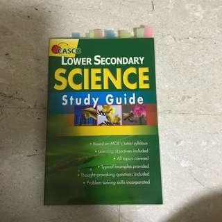 CASCO Lower Sec Science study Guide