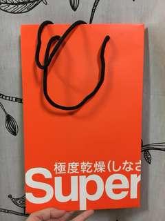🚚 極度乾燥 superdry 紙袋