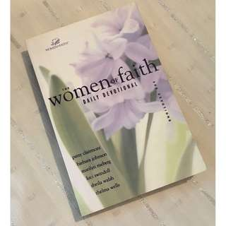 The Women of Faith Daily Devotional Book by Patsy Clairmont Christian Book