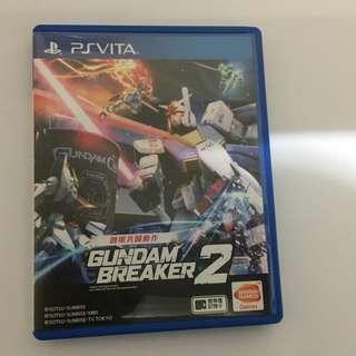 PS Vita Gundam Breaker 2