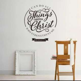 Self Motivation & Encourage Wall Stickers