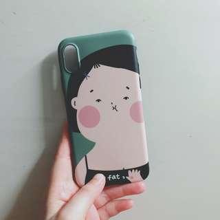 [Iphone X系列]胖女兒軟case
