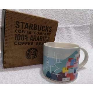 Starbucks mug Busan韩国釜山gamcheon culture village 星巴克杯