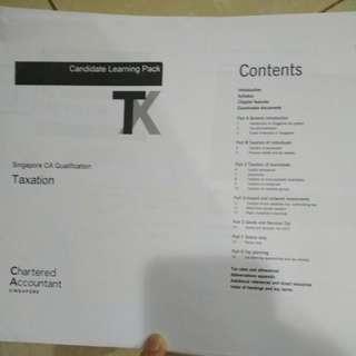 CAQ - Taxation