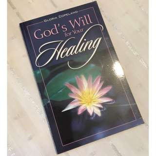God's Will for Your Healing by Gloria Copeland Christian Book