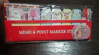 Sheep memo set