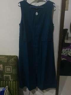 zalora collection blue navy, ukuran S