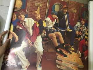 Poster BTS You Never Walk Alone