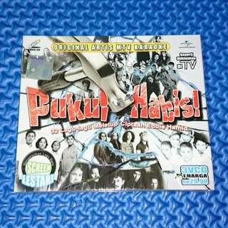 🆕 VA - Pukul Habis! 36 Lagu-Lagu Meletup Ciptaan Eddie Hamid 3VCD [2010] VCD Karaoke