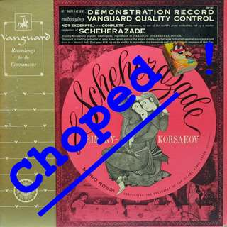 scheherazade Vinyl LP used, 12-inch, may or may not have fine scratches, but playable. NO REFUND. Collect Bedok or The ADELPHI.
