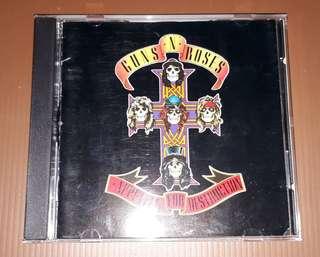 CD Guns N' Roses - Appetite For Destruction ( Imported Germany Press )