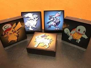 🚚 Pokémon Pop Art Poster Frames