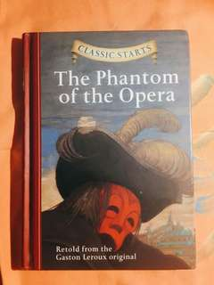 Novel The Phantom of The Opera (HARD COVER)