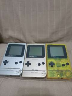 Gameboy Light Consoles