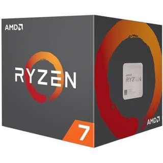 AMD RYZEN 7 1700 8-Core Socket AM4 65W (SEALED NEW)
