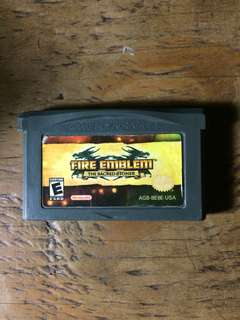 Authentic GBA game Fire Emblem Sacred Stones US cartridge