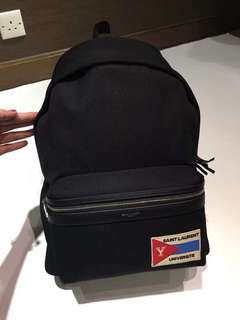 YSL Saint Laurent backpack 襟章