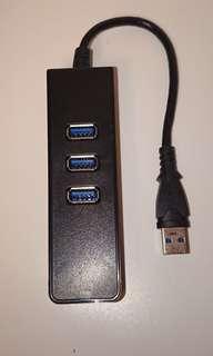 UNITEK USB 3.0.  4–USB Ports Hub。  請刹價高手及精明驗絲官莫問!