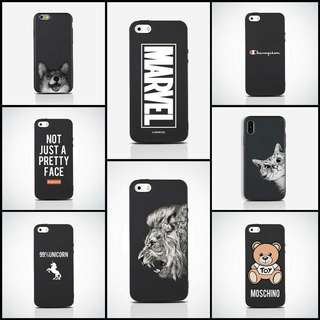 Matte Iphone Cases from Iphone 5 to X