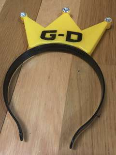 Bigbang GD 頭飾 (有燈)
