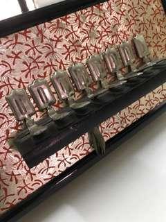 Antique accordion squeeze music box