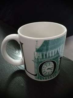 2002 Starbucks London City Mug