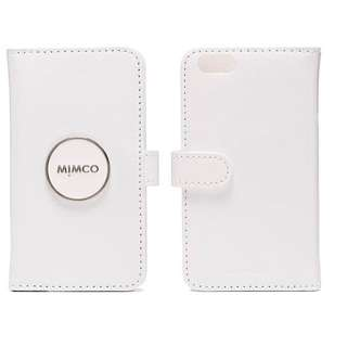 White Mimco iPhone 6/ 6S Leather Phone Cover