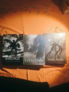 🔥 Novel HUSH HUSH Series (Bundle) - Becca Fitzpatrick