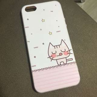 Cute kitten cat iphone 5S/SE silicon case