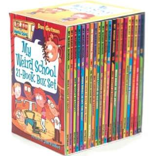 🚚 My Weird School Series 21 Books Collection - Boxed Set ( All Paperback Books and Brand New )