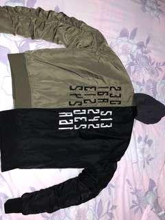 Zara man bomber jacket size XL